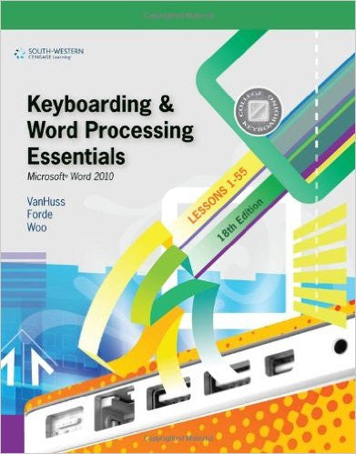 Keyboarding & Word Processing Essentials 18 > Lessons 1-55
