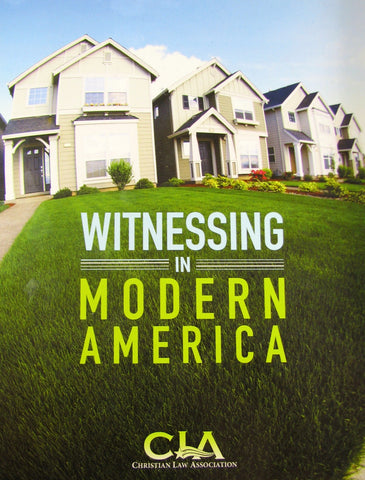 Witnessing In Modern America