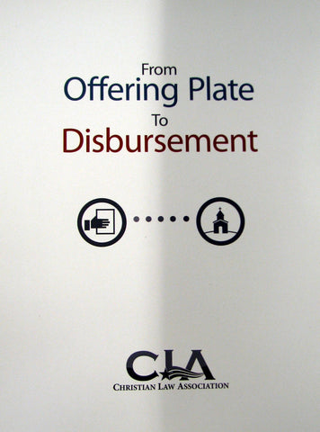 From Offering Plate to Disbursement