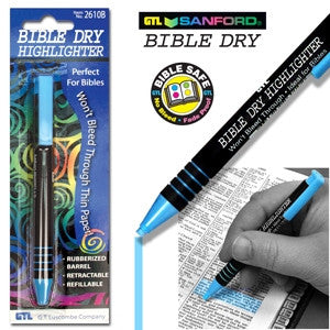 Bible Dry Highlighter Blue