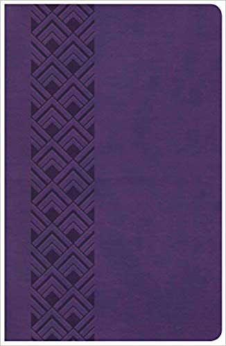 KJV Ultrathin Reference Bible, purple