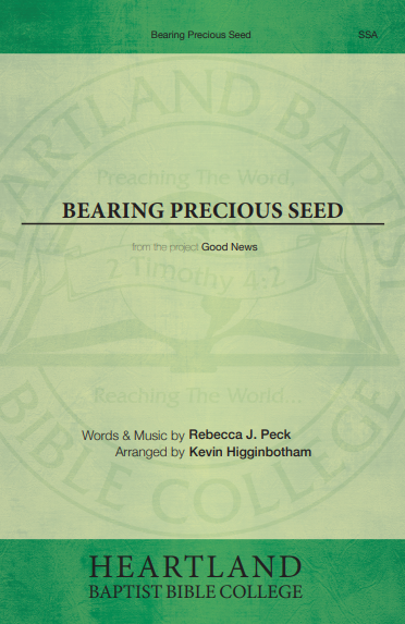 Bearing Precious Seed (Sheet Music)