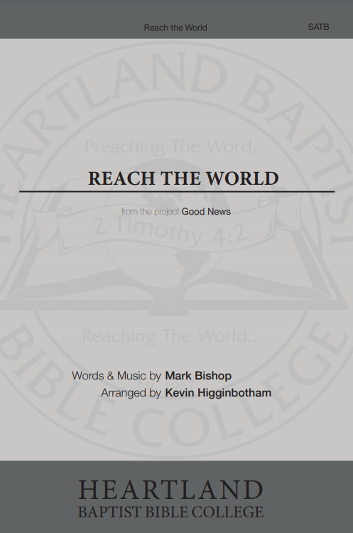 Reach the World (Sheet Music)