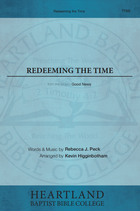 Redeeming the Time (Sheet Music)