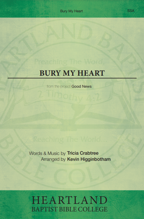 Bury My Heart (Sheet Music)