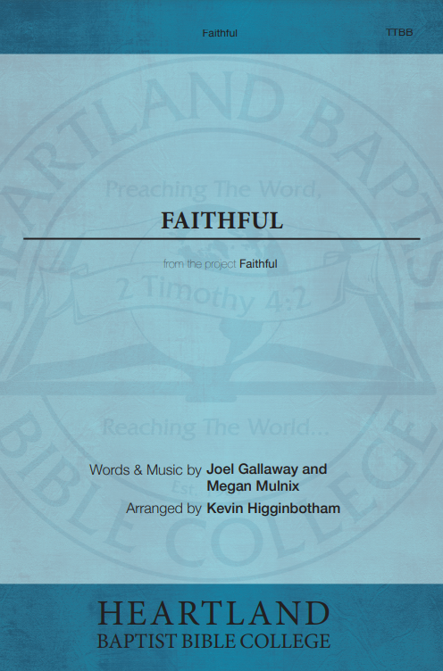 Faithful (Sheet Music)