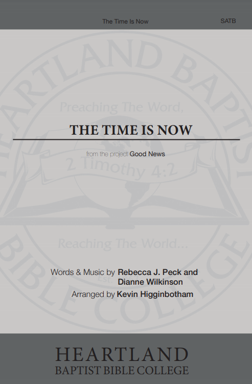The Time Is Now (Sheet Music)