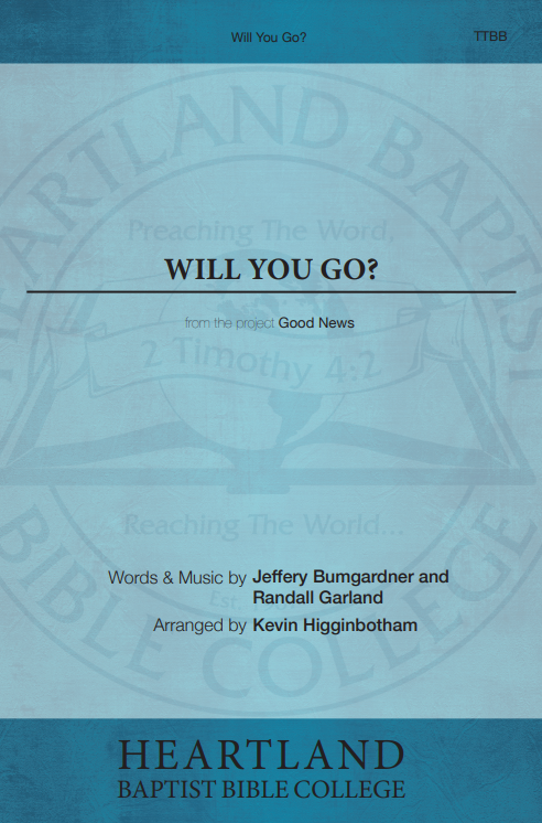 Will You Go? (Sheet Music)