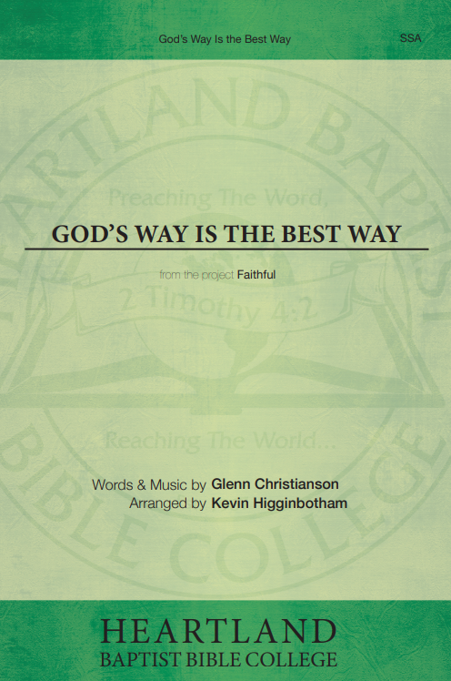 God's Way is the Best Way (Sheet Music)