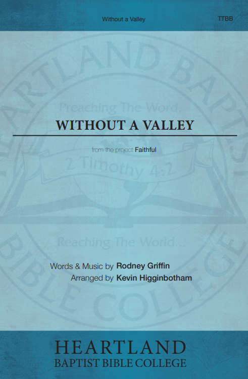 Without a Valley (Sheet Music)