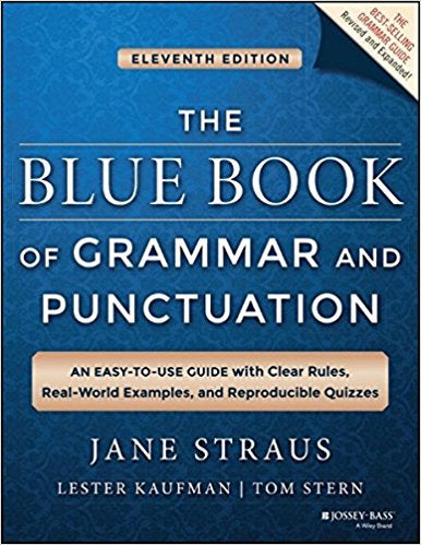 Blue Book of Grammar and Punctuation, 11th ed