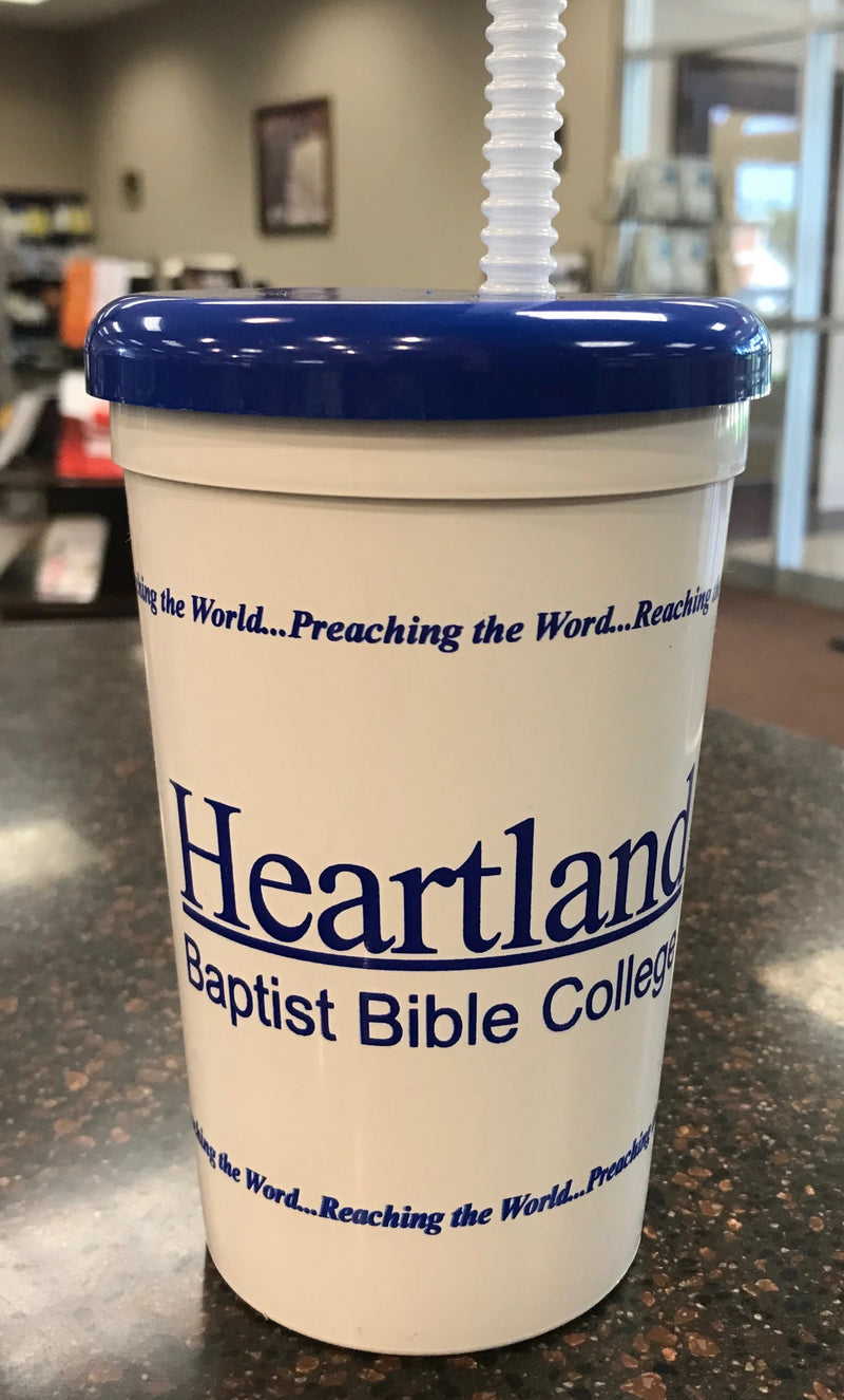 Heartland Cup with Lid & Straw