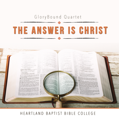 The Answer Is Christ CD