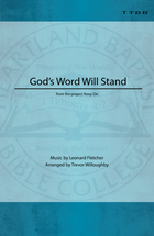 God's Word Will Stand