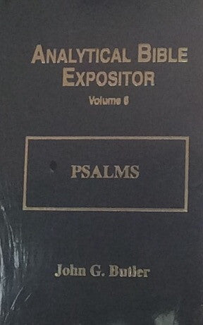 Psalms Analytical Bible Exposit