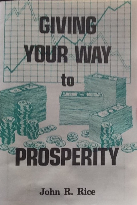 Giving Your Way to Prosperity