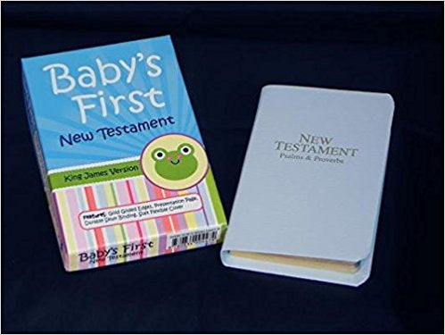 Baby's First New Testament KJV Blue