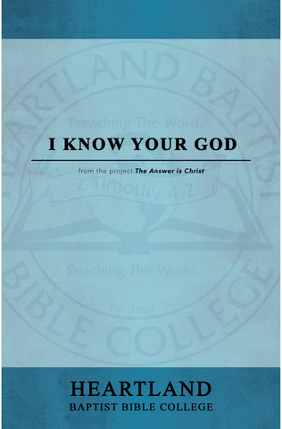 I Know Your God Sheet Music