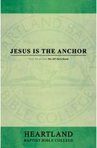 Jesus is the Anchor Sheet Music