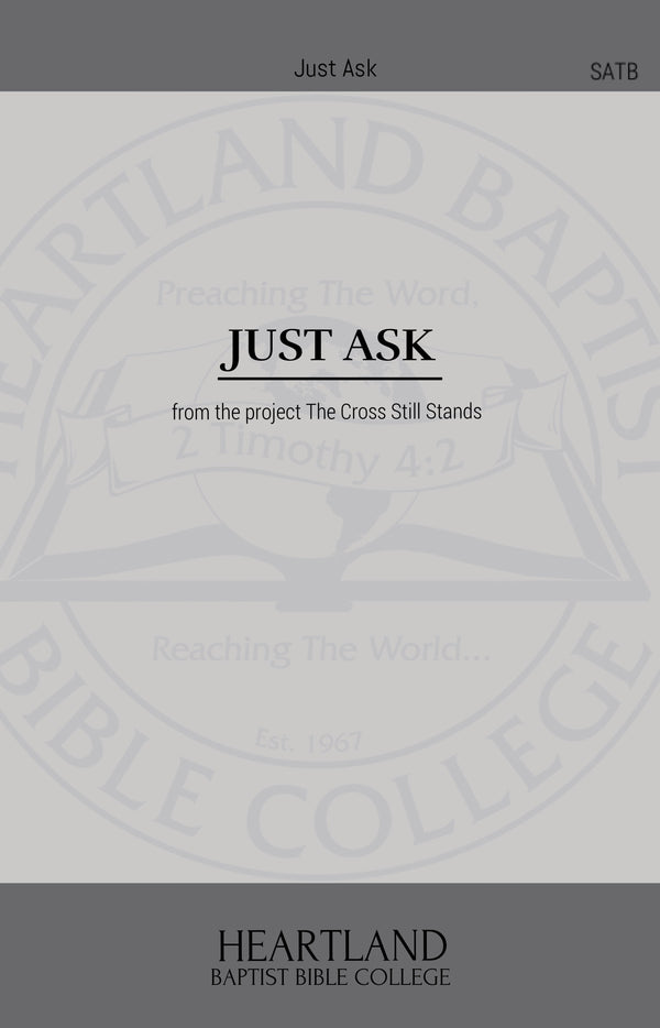 Just Ask (Sheet Music)