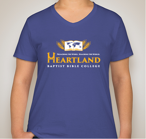 Heartland T-Shirt, Ladies, V-Neck