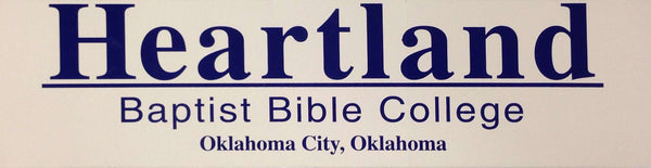 Heartland Bumper Sticker