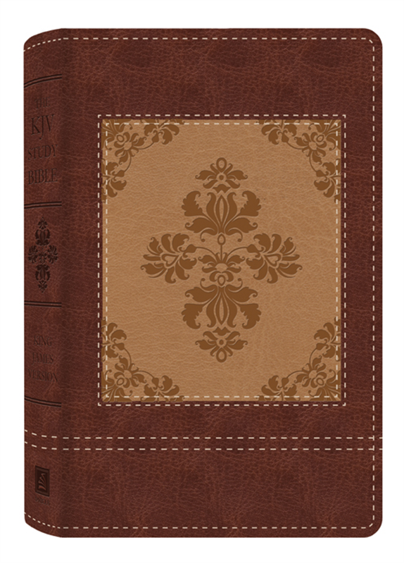 KJV Study Bible (Heritage Two-Tone Brown) Barbour
