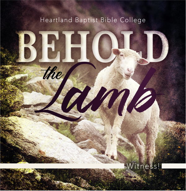 Behold the Lamb (CD)