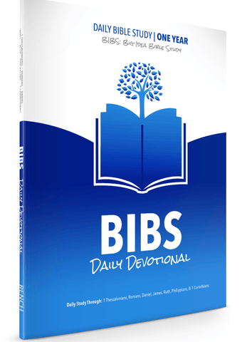 BIBS Daily Devotional Blue - Books from Heartland Baptist Bookstore