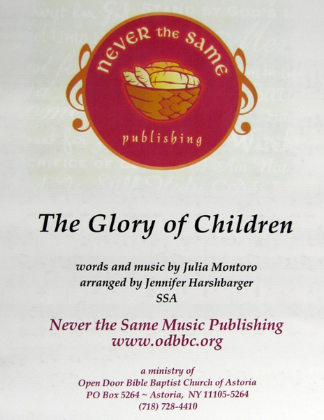 Glory of Children
