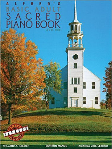 Alfred's Basic Adult Sacred Piano Book Level 1 - Sheet Music from Heartland Baptist Bookstore