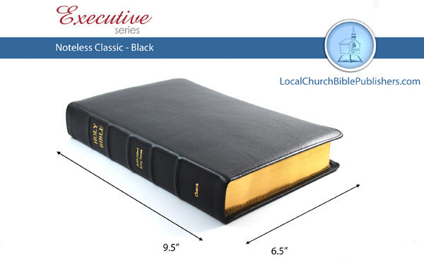 427 Noteless Classic - Bibles from Heartland Baptist Bookstore
