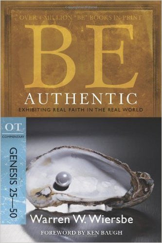 Be Authentic (Genesis) - Books from Heartland Baptist Bookstore