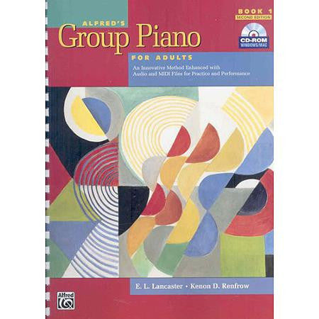 Alfred's Group Piano for Adults - Books from Heartland Baptist Bookstore