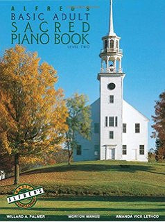 Alfred's Basic Adult Sacred Piano Book Level 2 - Sheet Music from Heartland Baptist Bookstore