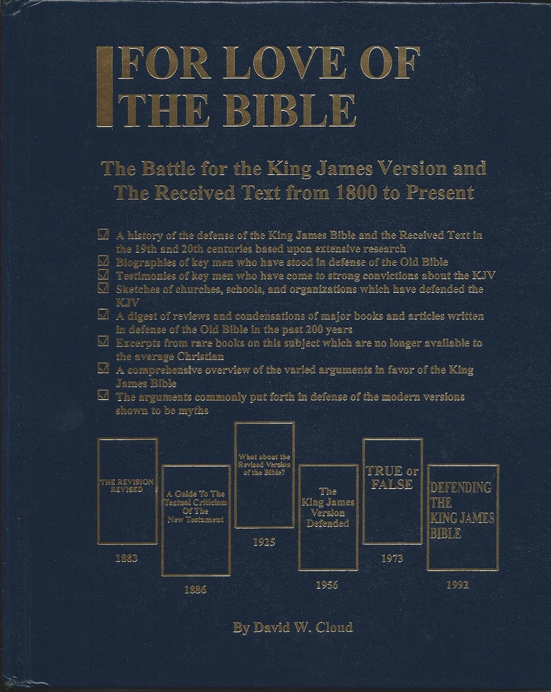 For Love of the Bible: Battle for the Authorized Version