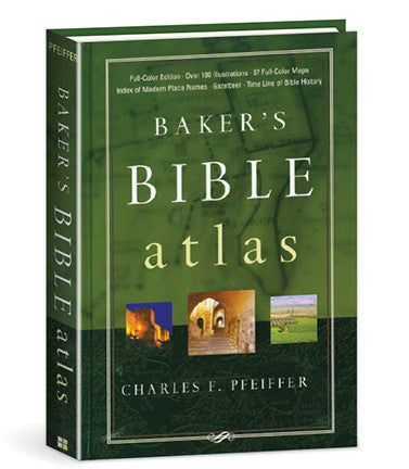 Baker's Bible Atlas - Books from Heartland Baptist Bookstore