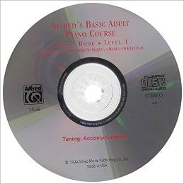 Alfred's Basic Adult Piano Course, CD - CDs from Heartland Baptist Bookstore