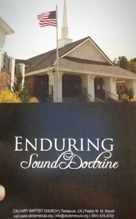 Enduring Sound Doctrine