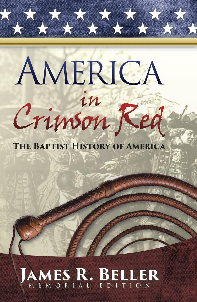 America in Crimson Red  Memorial Ed - Books from Heartland Baptist Bookstore