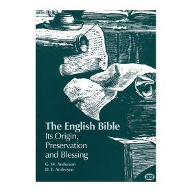 Article 101 English Bible Origin - Books from Heartland Baptist Bookstore