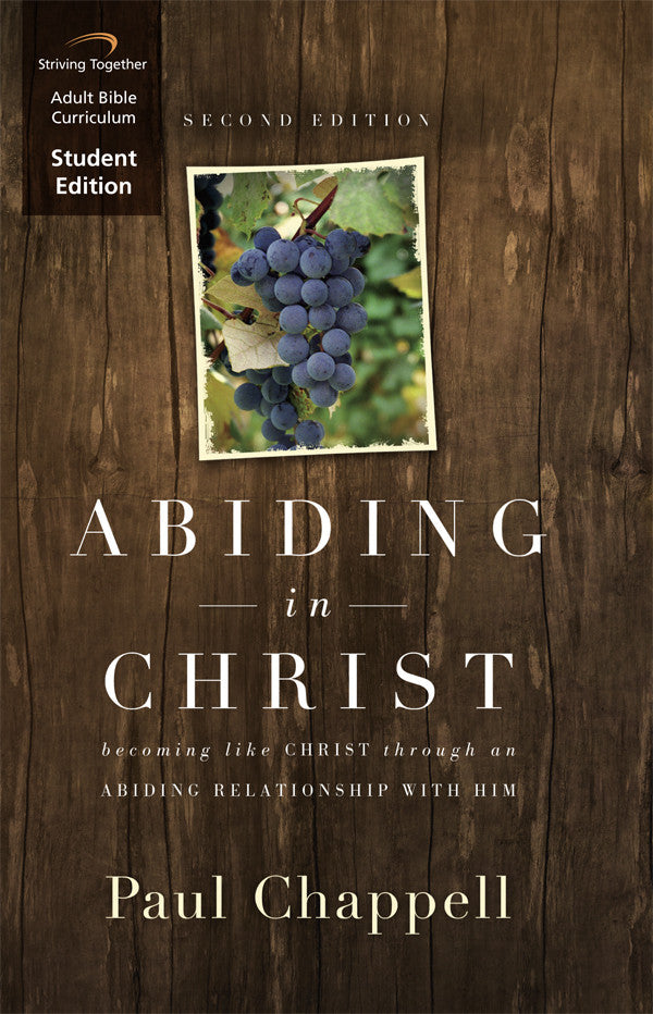Abiding in Christ Student Ed - Books from Heartland Baptist Bookstore