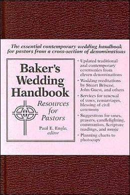 Baker's Wedding Handbook - Books from Heartland Baptist Bookstore