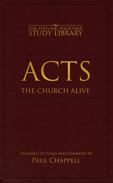 Acts The Church Alive - Books from Heartland Baptist Bookstore