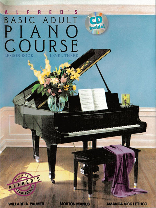 Alfred's Basic Adult Piano Course, Level 1 (Book) - Books from Heartland Baptist Bookstore