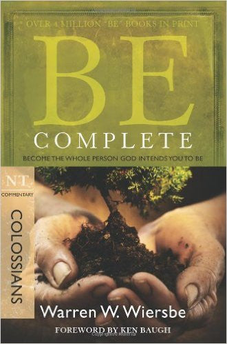 Be Complete (Colossians) - Books from Heartland Baptist Bookstore