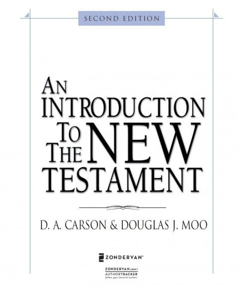 An Introduction to New Testament, Second Edition - Books from Heartland Baptist Bookstore