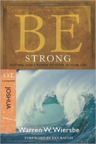 Be Strong (Joshua) - Books from Heartland Baptist Bookstore