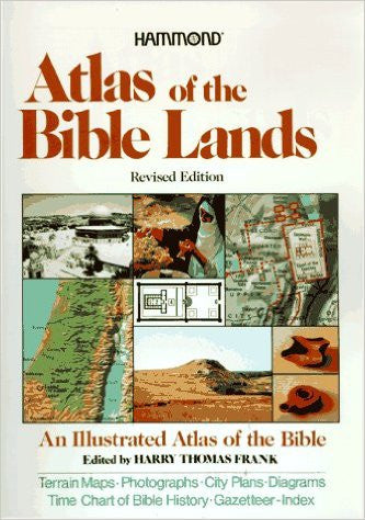 Atlas of the Bible Lands - Books from Heartland Baptist Bookstore