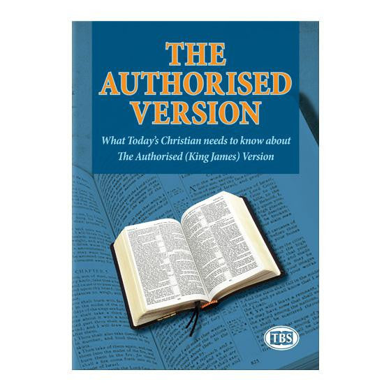 Article 75 Authorized Version - Books from Heartland Baptist Bookstore